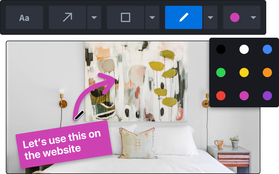 Add drawing, markup & annotations in Markup Hero